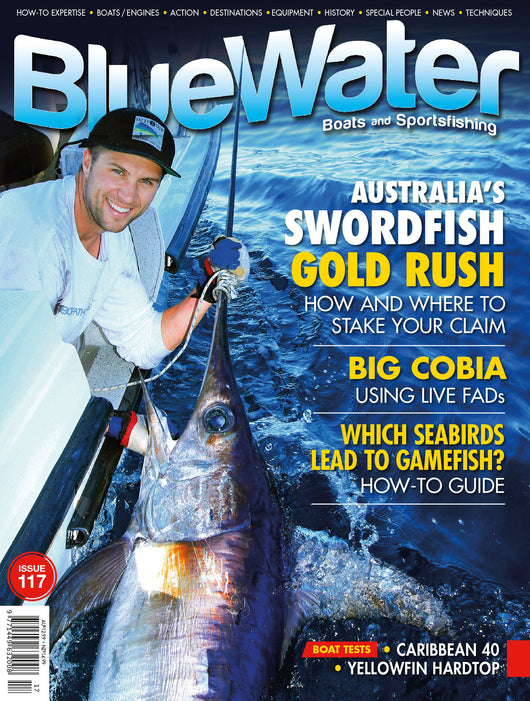 BlueWater magazine 12 month subscription INTERNATIONAL (with Air Mail)