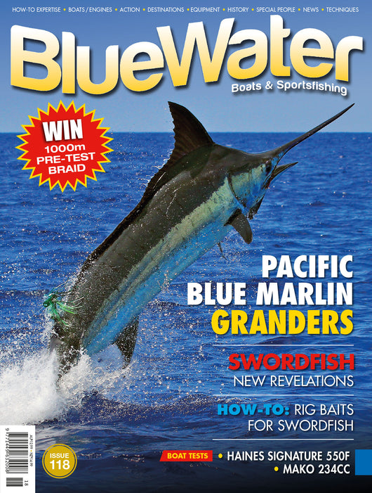 BlueWater magazine 24 month subscription NEW ZEALAND (Retail Value $209.86)