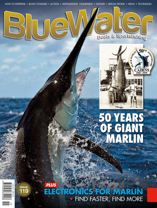 BlueWater magazine 24 month subscription AUSTRALIA (Retail value $181.86)