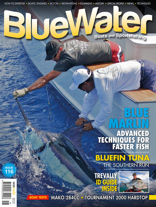 BlueWater magazine 24 month subscription INTERNATIONAL (with Air Mail)