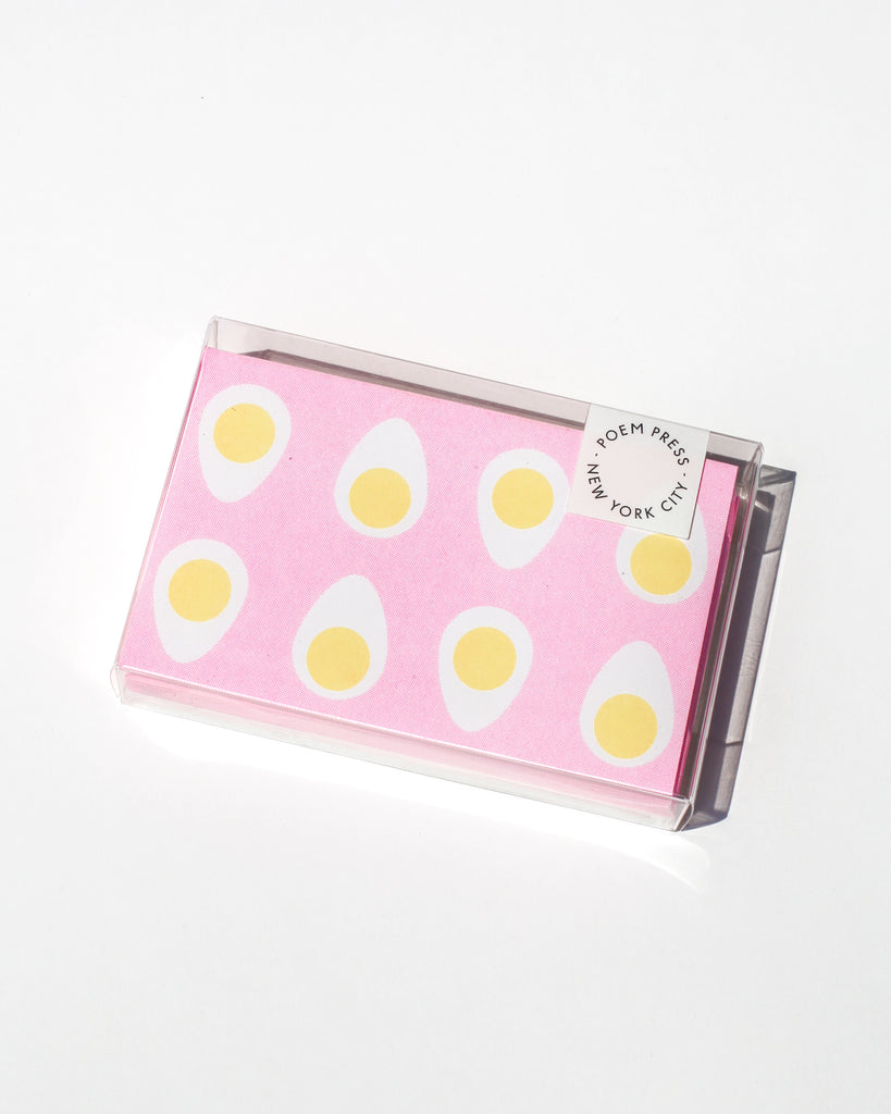 Pink Egg Envelope Set