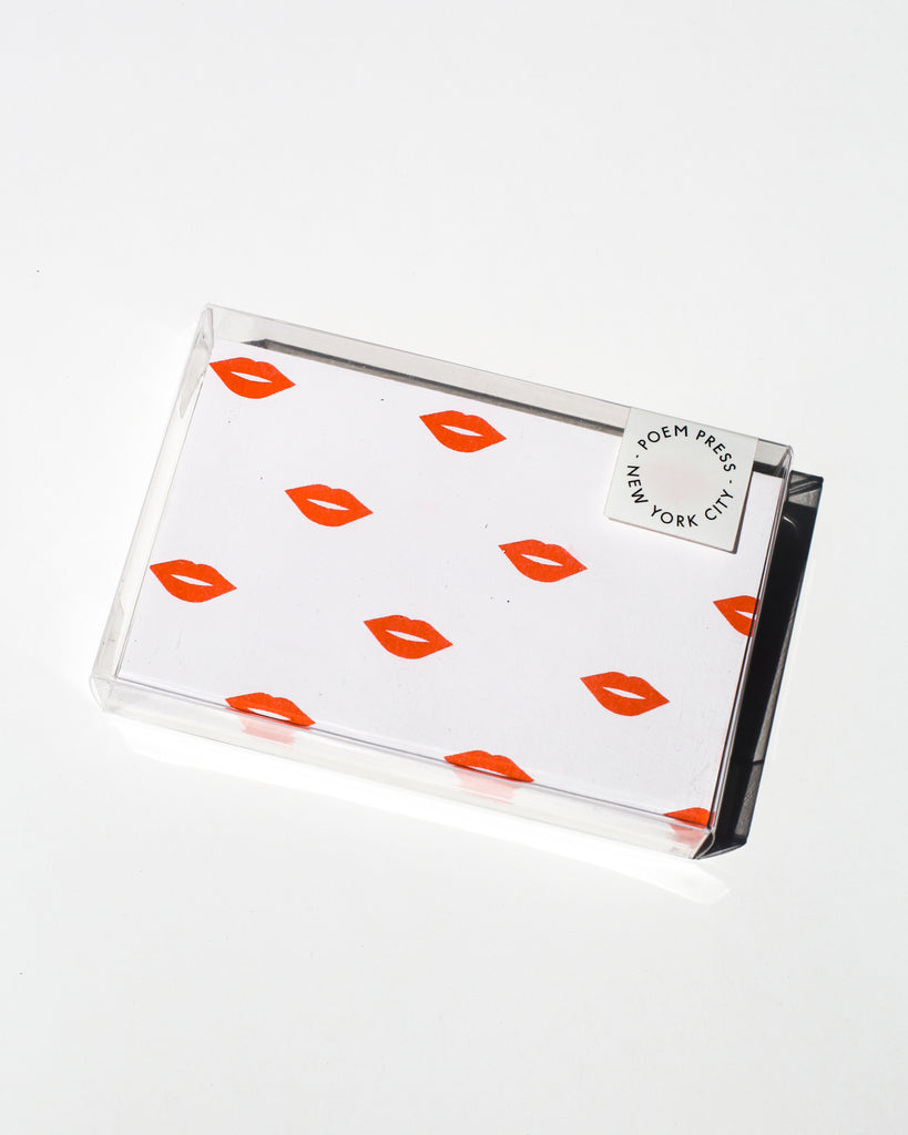 Red Lips Envelope Set