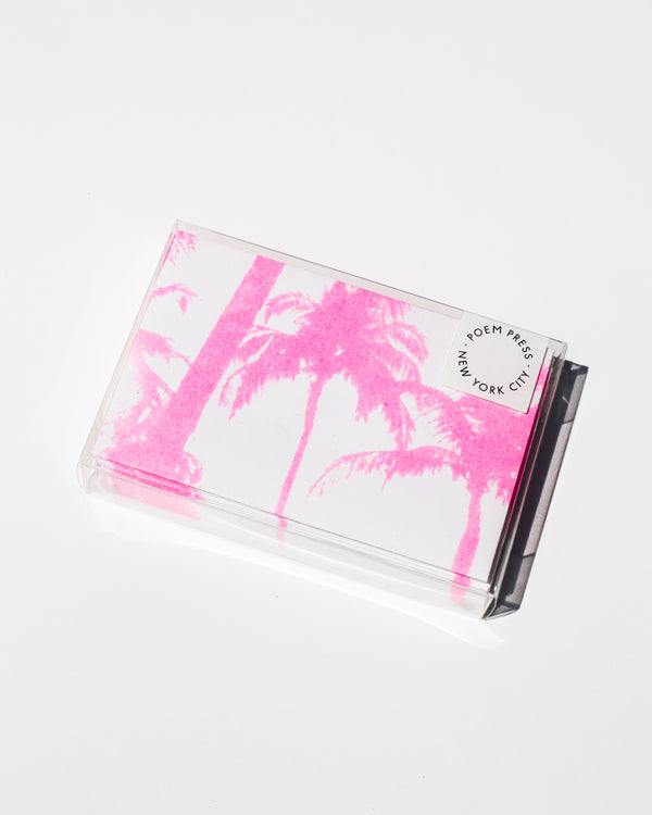 Pink Palm Notecards