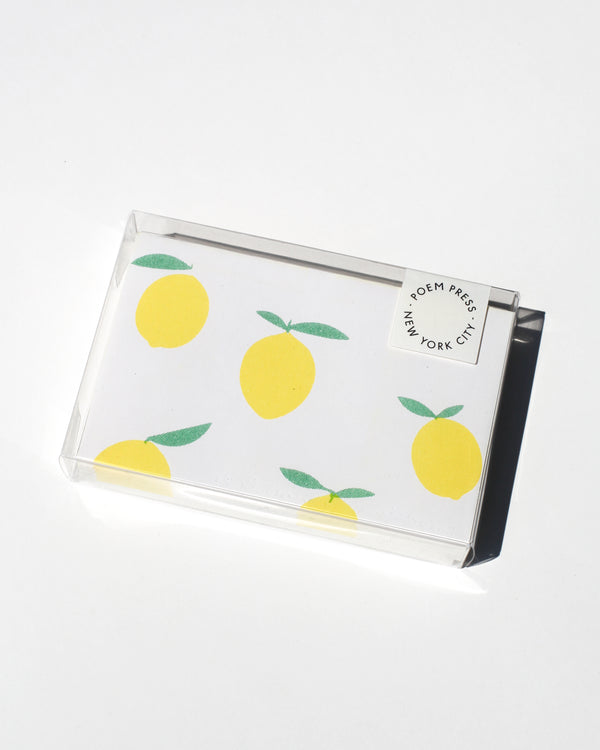 Lemon Envelope Set