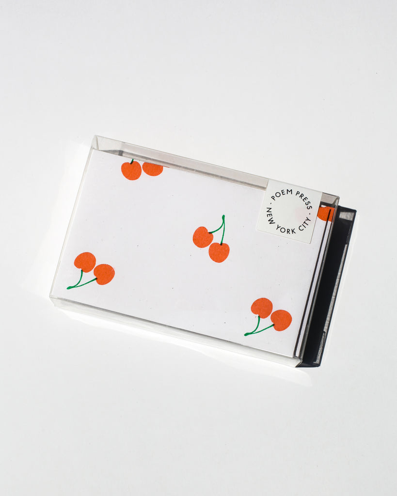 Cherry Notecards