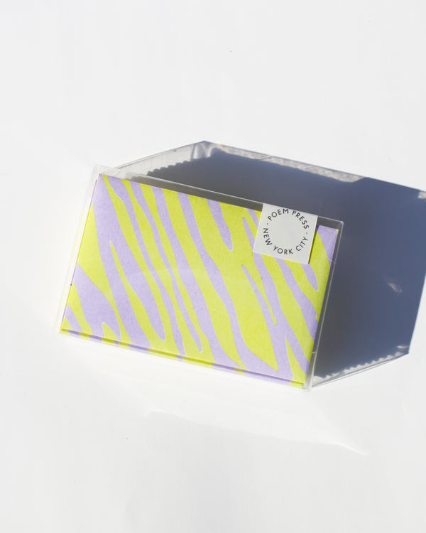 Cool Zebra Envelope Set [WS]