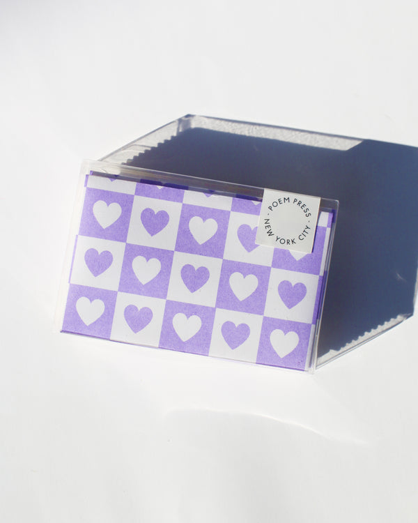 Violet Hearts Envelope Set [WS]