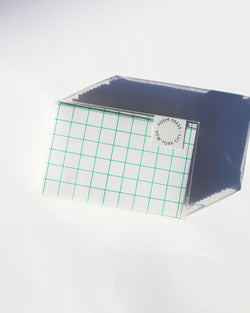 Green Grid Envelope Set