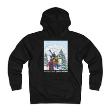 """Winter Hike"" Unisex Heavyweight Fleece Hoodie"