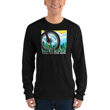 """Summer Bike"" Long Sleeve Tee Shirt"