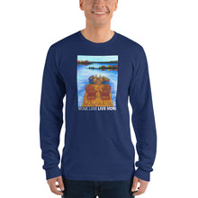 "More ""Dock Time"" in your future Long Sleeved Tee Shirt"
