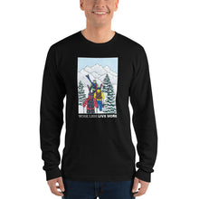 """Winter Hike"" Long Sleeve Tee Shirt"