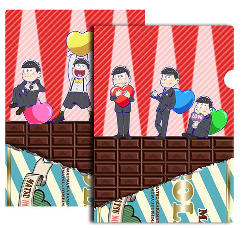 (Goods) Osomatsu-san: LOVEMATSU Clear File Set