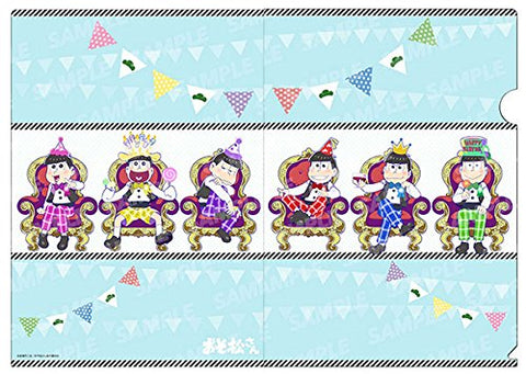 (Goods) Osomatsu-san: Birthday ver. Clear File