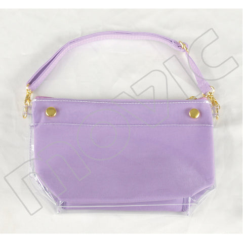 (Goods) Itamate 6-Way Pouch / Milky☆Purple