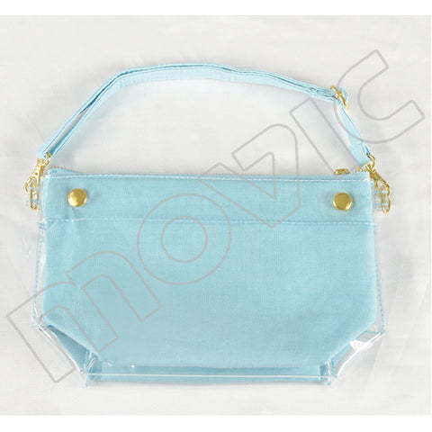 (Goods) Itamate 6-Way Pouch / Milky☆Blue