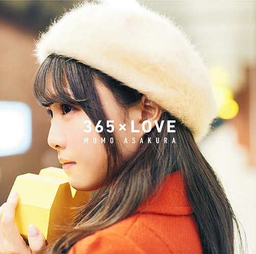 (Maxi Single) 365 x LOVE by Momo Asakura [Regular Edition]