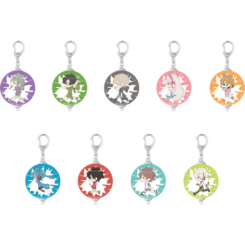Kagerou Project Trading Tin Clip Keychain (9 types total)
