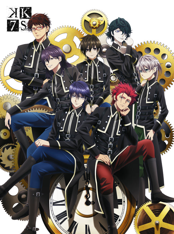 (DVD) K SEVEN STORIES Movie DVD BOX SIDE: ONE [Limited Edition, animate Limited Set]