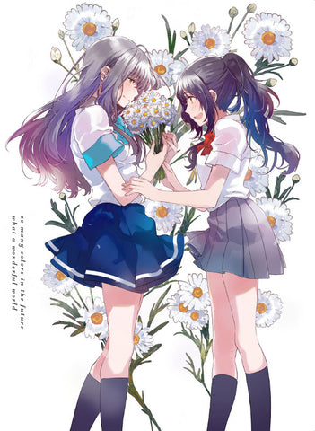 (Blu-ray) Iroduku: The World in Colors (Irozuku Sekai no Ashita kara) TV Series Blu-ray BOX 3