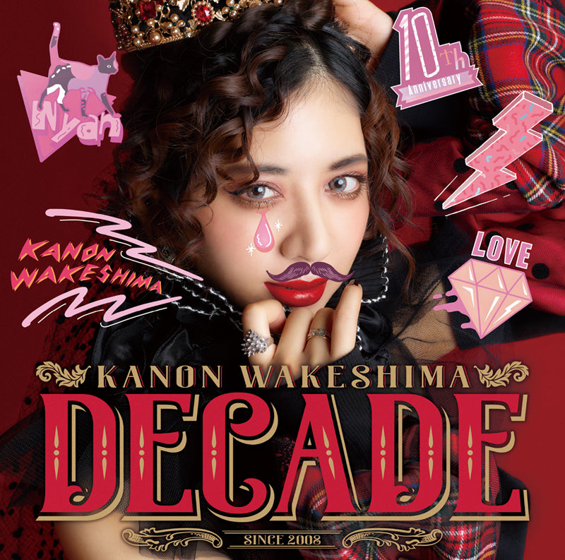 (Album) DECADE by Kanon Wakeshima [Regular Edition]