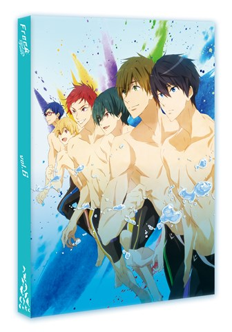 (Blu-ray) Free! - Dive to the Future TV Series 6