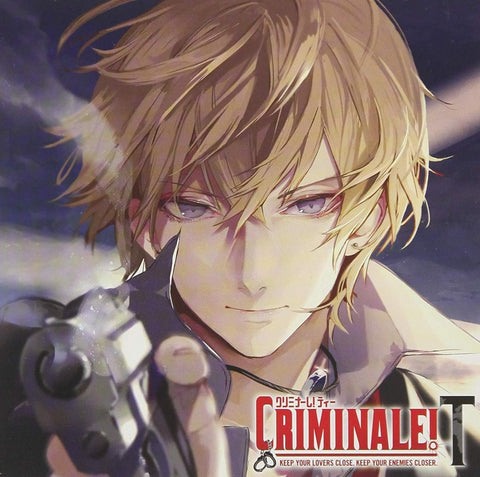 (Drama CD) CDs Where You Have 48 Hours To Clear Your Name With Your Man: Criminale! T Vol. 1 Gerardo  (CV. Hikaru Midorikawa)