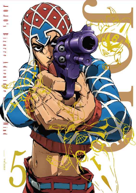 (Blu-ray) JoJo's Bizarre Adventure TV Series Part 5: Golden Wind Vol. 5 [First Run Limited Edition]