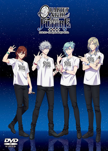 (DVD) Uta no Prince-sama QUARTET NIGHT LIVE FUTURE 2018