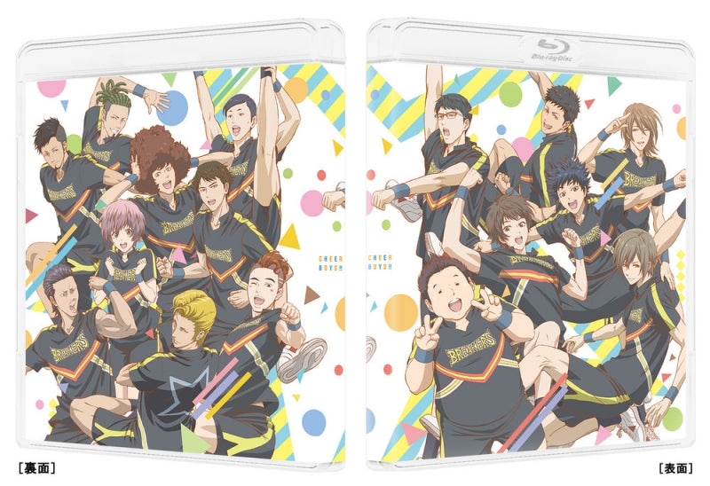 (Blu-ray) Cheer Boys!! (Cheer Danshi!!) TV Series Blu-ray BOX