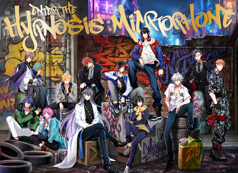 (Album) Hypnosis Mic: Division Rap Battle 1st FULL ALBUM - Enter the Hypnosis Microphone [First Run Limited Edition LIVE Edition] Animate International