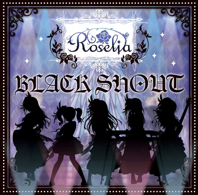 (Character Song) BanG Dream! - Black Shout by Roselia [w/ Blu-ray, Limited Edition]