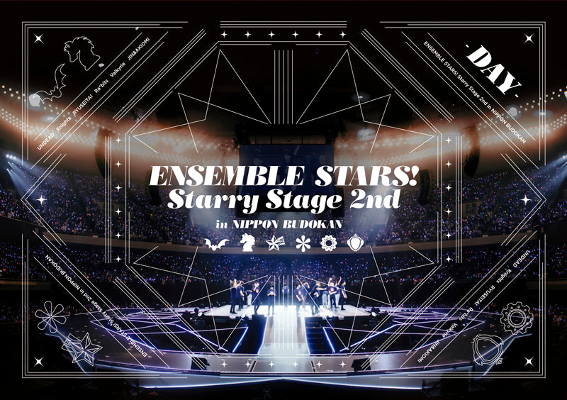 (DVD) Ensemble Stars! Starry Stage 2nd - in Nippon Budokan [DAY Edition]