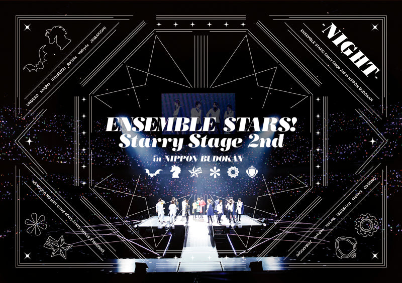 (DVD) Ensemble Stars! Starry Stage 2nd - in Nippon Budokan [NIGHT Edition] Animate International