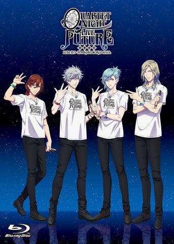 (Blu-ray) Uta no Prince-sama QUARTET NIGHT LIVE FUTURE 2018