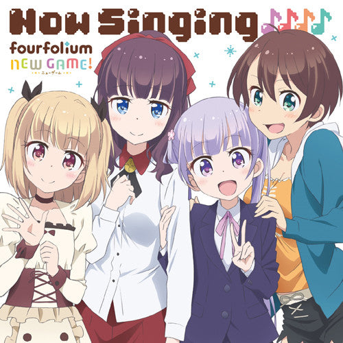"(Album) ""New Game! (Anime)"" Character Song Mini-album: Now Singing Animate International"