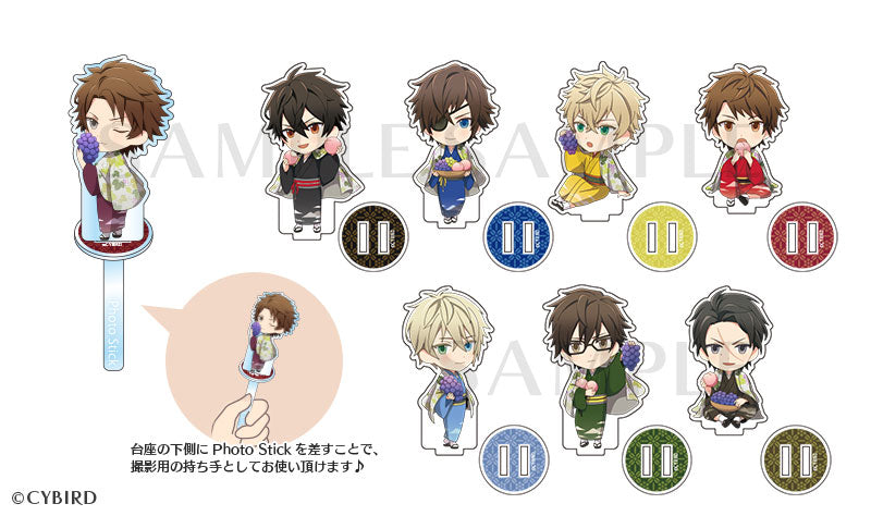 [※Blind Box] (Goods) Ikemen Sengoku: Love That Leaps Through Time Trading Acrylic Stand - Fruit Harvest