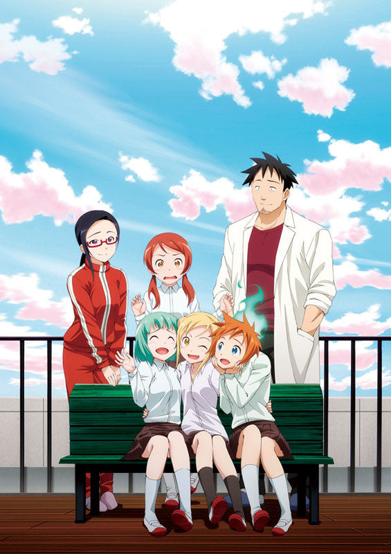 (Blu-ray) Interviews with Monster Girls (Demi-chan wa Kataritai) 1 [Limited Edition]