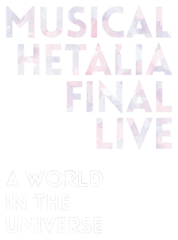 (Blu-ray) Hetalia the Musical FINAL LIVE ~A World in the Universe~ Blu-ray BOX [w/ animate Original Bonus]