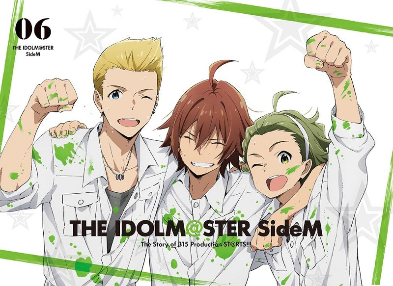 (DVD) THE IDOLM@STER (Idolmaster) SideM TV Series Vol. 6 [Full Production Limited Edition]