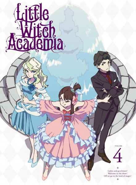 (DVD) Little Witch Academia Vol.4 [First-run Limited Edition]