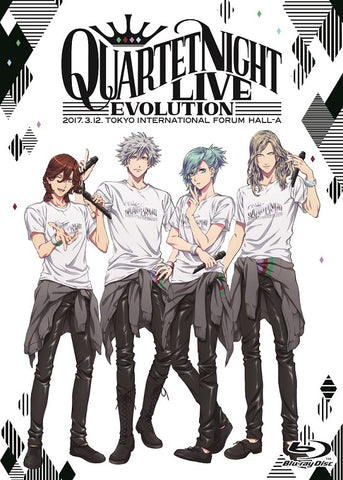 (Blu-ray) Uta no Prince-sama QUARTET NIGHT LIVE Evolution 2017