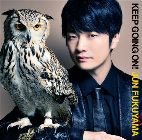 (Maxi Single) KEEP GOING ON! by Jun Fukuyama [w/ DVD, Limited Edition]