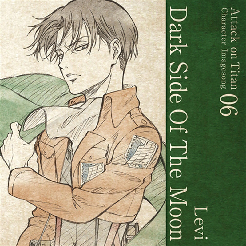 (Character Song) Attack On Titan Anime: Character Image Song Series Vol. 06 - Dark Side Of The Moon by Levi (CV. Hiroshi Kamiya)