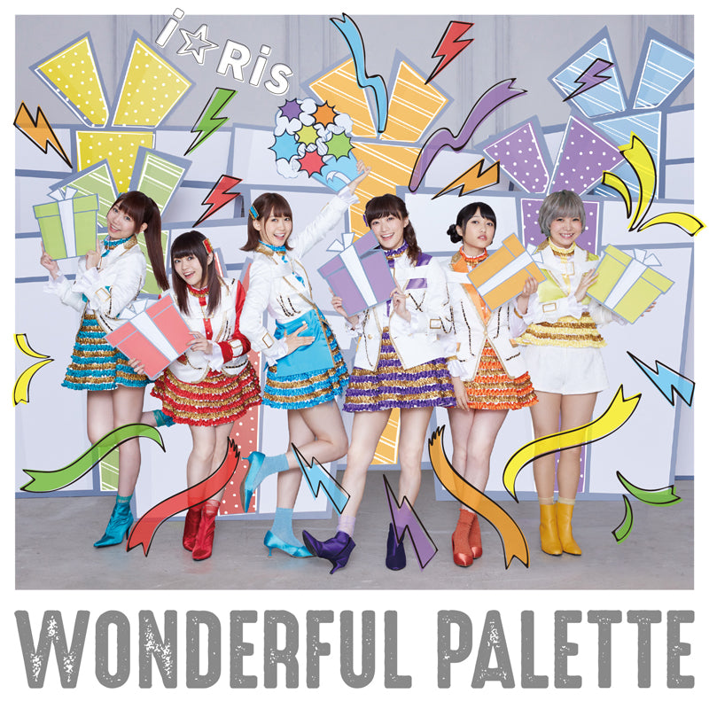 (Album) WONDERFUL PALETTE! by i☆Ris [CD + Blu-ray]