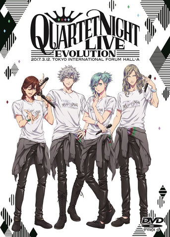 (DVD) Uta no Prince-sama QUARTET NIGHT LIVE Evolution 2017