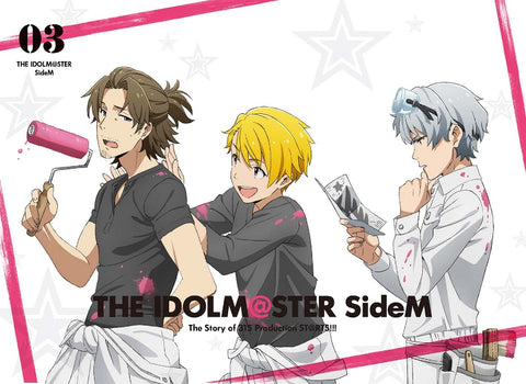 (Blu-ray) THE IDOLM@STER (Idolmaster) SideM TV Series Vol. 3 [Full Production Limited Edition]