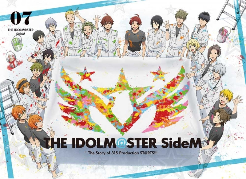 (DVD) THE IDOLM@STER (Idolmaster) SideM TV Series Vol. 7 [Full Production Limited Edition] Animate International