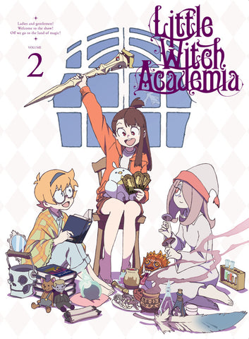 (DVD) Little Witch Academia Vol.2 [First-run Limited Edition]