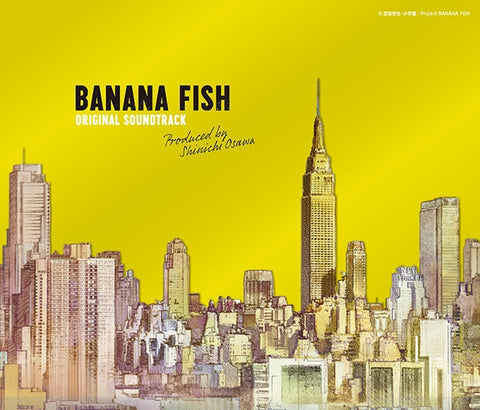 (Soundtrack) BANANA FISH TV Series Original Soundtrack
